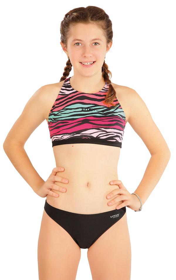 Dívčí plavky kalhotky bokové. 63612 | Dívčí plavky LITEX