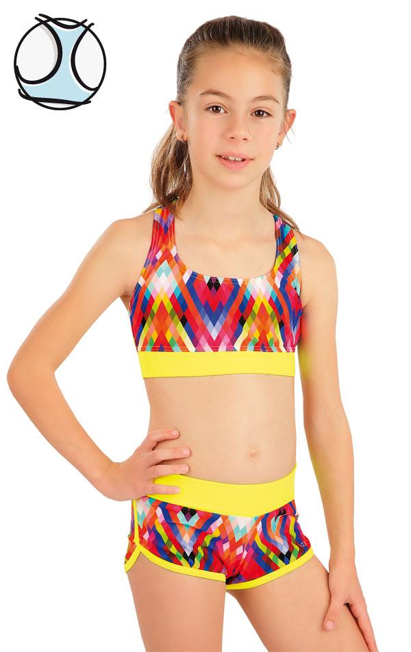 Dívčí plavky sportovní top. 63620 | Dívčí plavky LITEX
