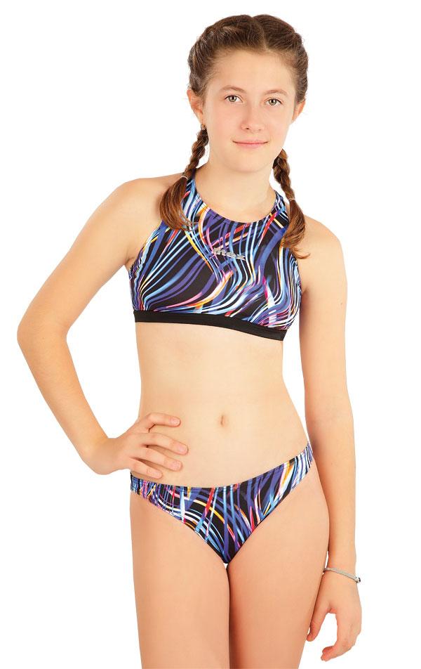 Dívčí plavky kalhotky bokové. 63631 | Dívčí plavky LITEX
