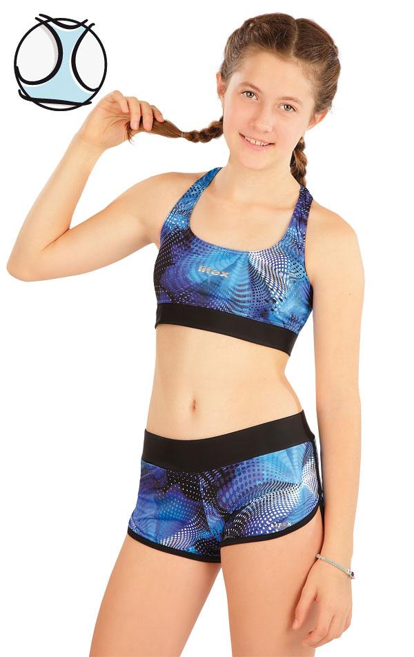 Dívčí plavky sportovní top. 63635 | Dívčí plavky LITEX