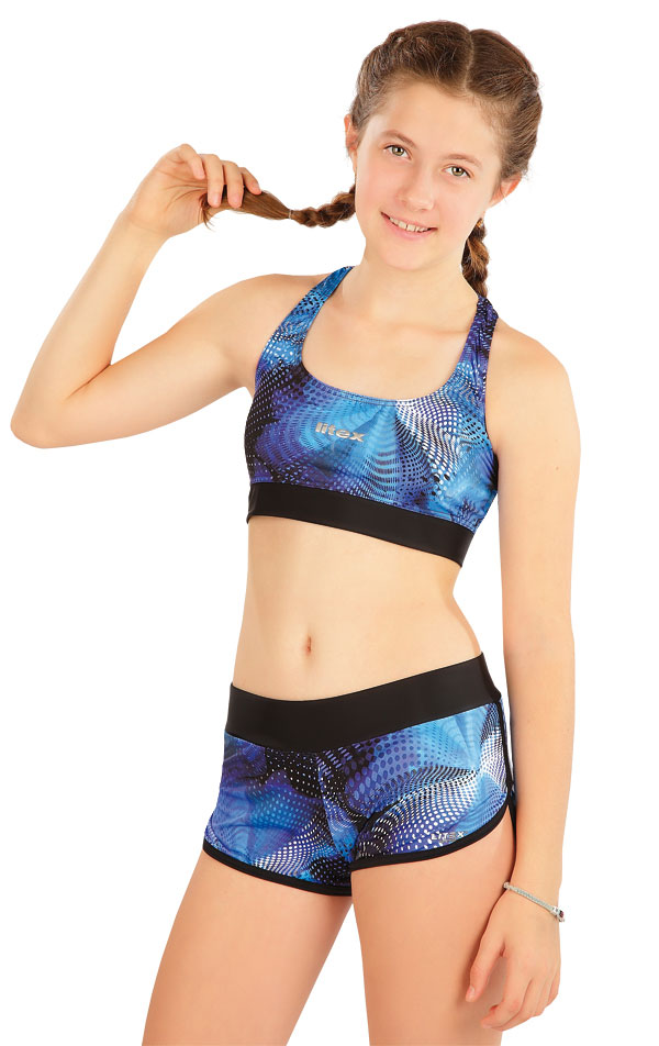 Dívčí plavky kraťasy. 63636 | Dívčí plavky LITEX