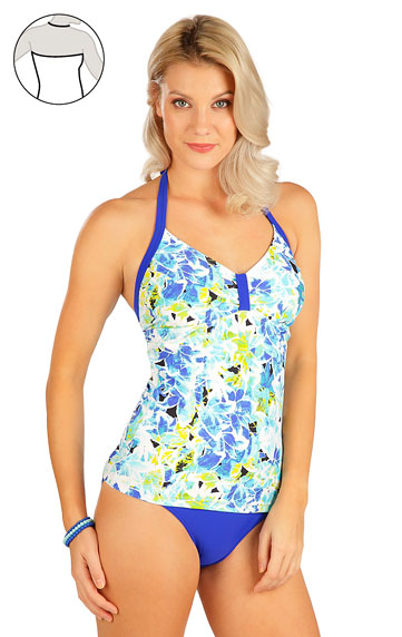 Plavky top dámský bez výztuže.