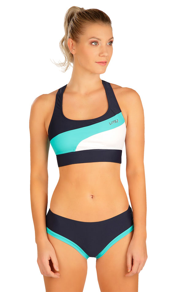 Plavky sportovní top bez výztuže. 6B295 | Sportovní plavky LITEX