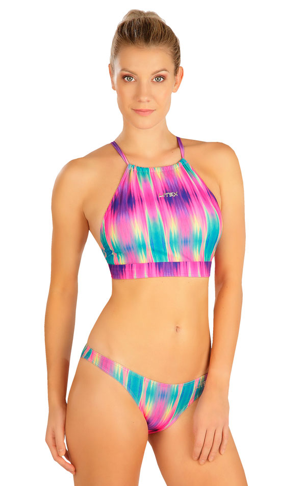 Plavky kalhotky string bokové. 6B323   Sportovní plavky LITEX