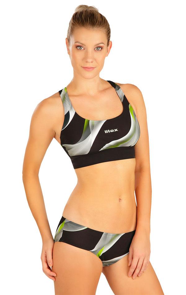 Plavky sportovní top bez výztuže. 6B331 | Sportovní plavky LITEX