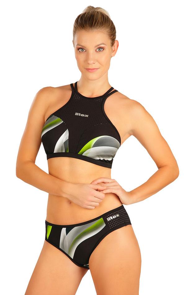 Plavky top s vyjímatelnou výztuží. 6B333   Sportovní plavky LITEX