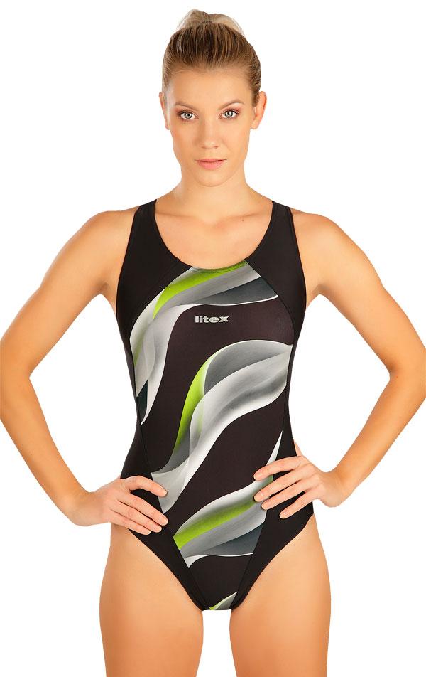 Jednodílné sportovní plavky. 6B336   Sportovní plavky LITEX