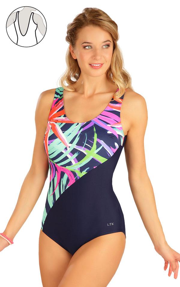 Jednodílné plavky s košíčky. 6B350   Jednodílné plavky LITEX