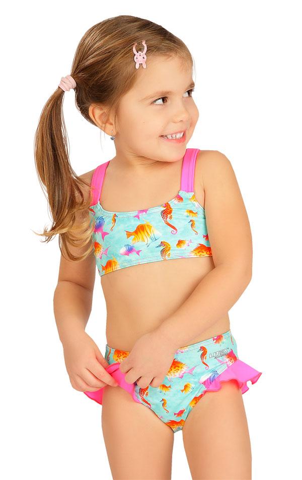 Dívčí plavky kalhotky bokové. 6B405   Dívčí plavky LITEX