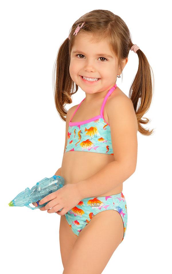 Dívčí plavky kalhotky středně vysoké. 6B407   Dívčí plavky LITEX