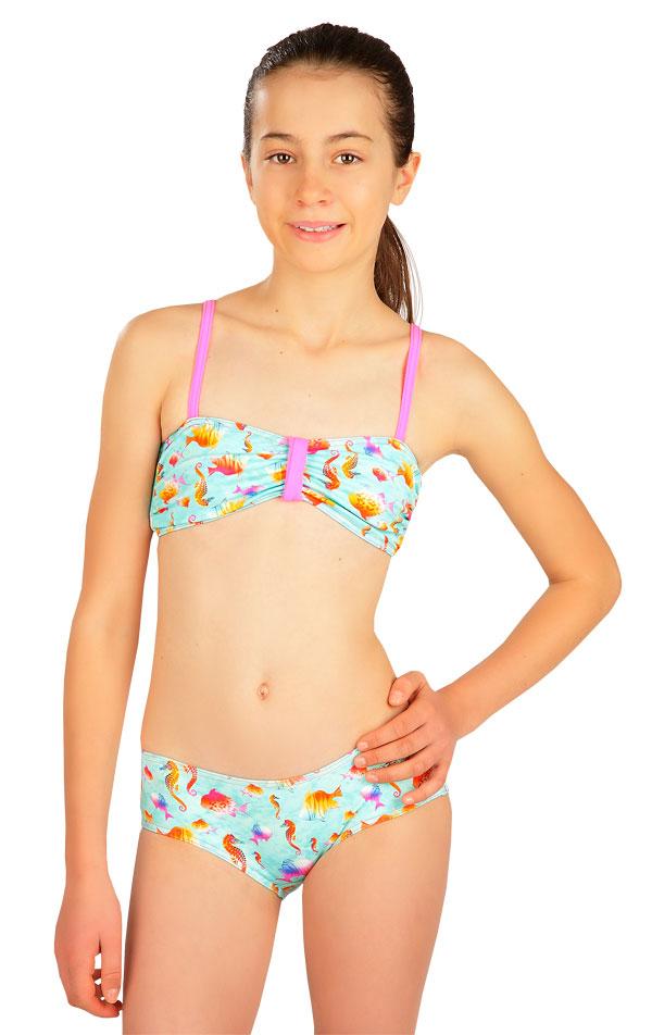 Dívčí plavky BANDEAU podprsenka. 6B408 | Dívčí plavky LITEX