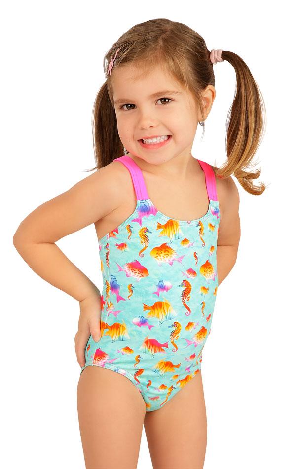 Jednodílné dívčí plavky. 6B410 | Dívčí plavky LITEX