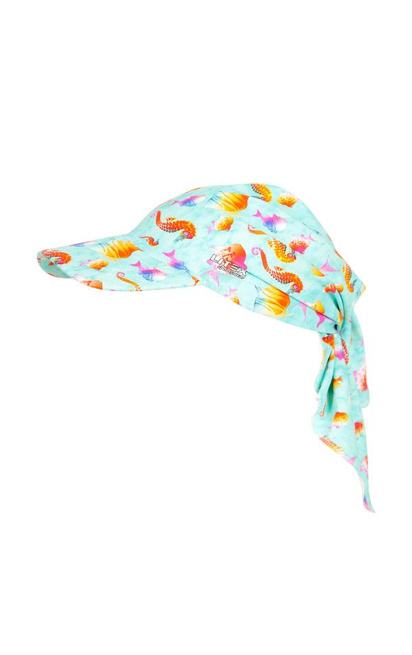 Dětský šátek s kšiltem. 6B413 | Dívčí plavky LITEX