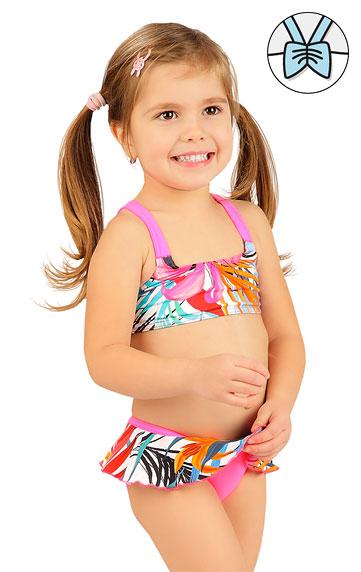 Dívčí plavky > Dívčí plavky top. 6B416
