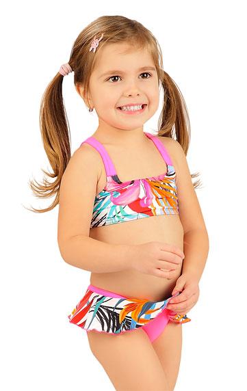 Dívčí plavky > Dívčí plavky kalhotky bokové. 6B417