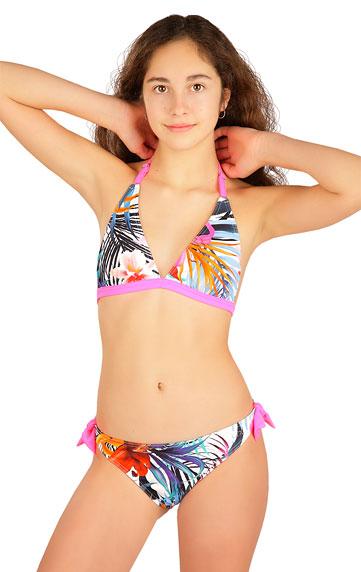 Dívčí plavky > Dívčí plavky kalhotky bokové. 6B419