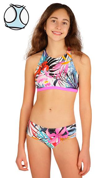 Dívčí plavky > Dívčí plavky top. 6B420