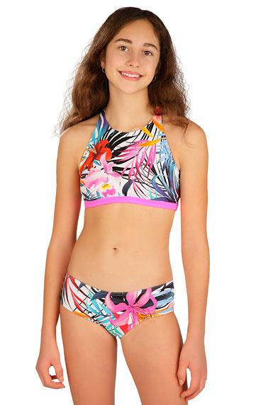 Dívčí plavky > Dívčí plavky kalhotky bokové. 6B421