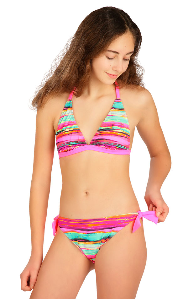 Dívčí plavky podprsenka. 6B424 | Dívčí plavky LITEX