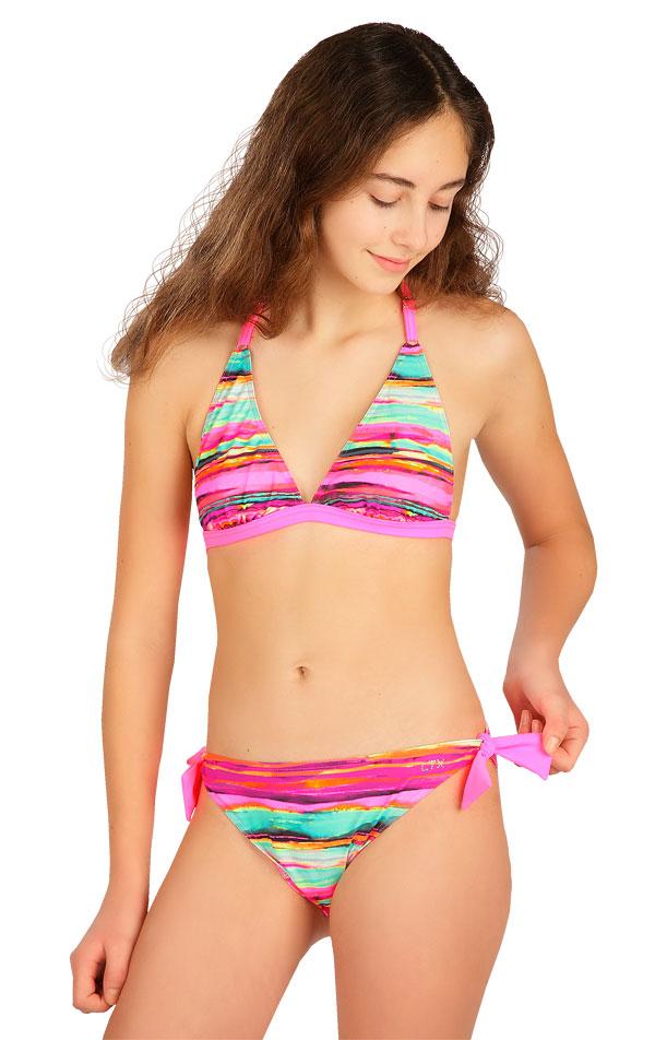 Dívčí plavky kalhotky bokové. 6B425 | Dívčí plavky LITEX