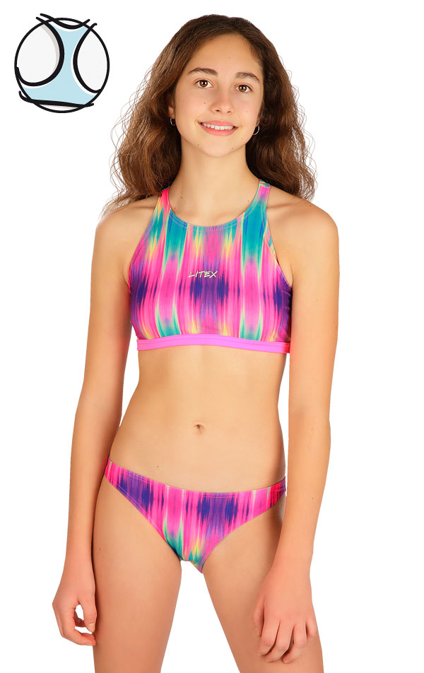 Dívčí plavky sportovní top. 6B428   Dívčí plavky LITEX