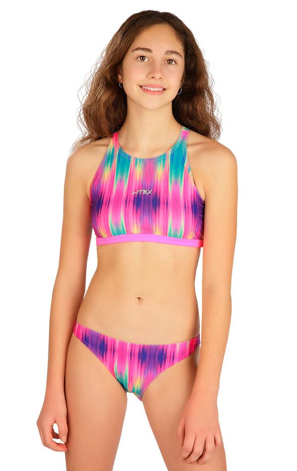Dívčí plavky kalhotky bokové. 6B429   Dívčí plavky LITEX