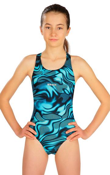 Dívčí plavky > Jednodílné sportovní dívčí plavky. 6B440