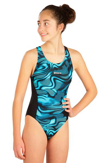 Dívčí plavky > Jednodílné sportovní dívčí plavky. 6B441