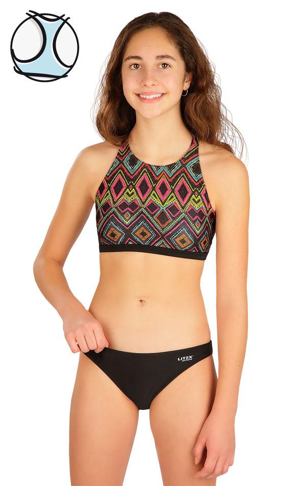 Dívčí plavky sportovní top. 6B455 | Dívčí plavky LITEX