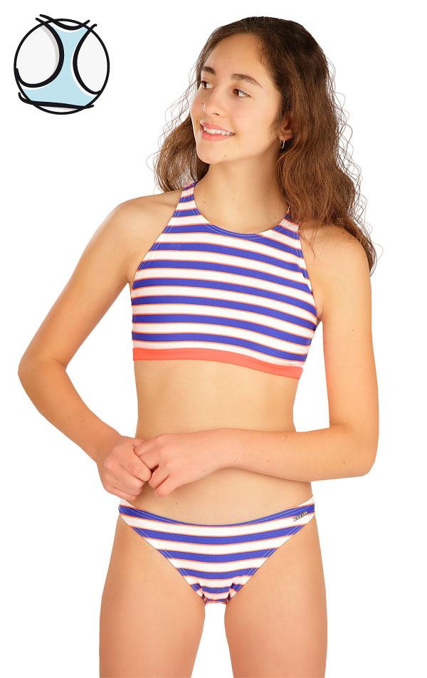 Dívčí plavky sportovní top. 6B464   Dívčí plavky LITEX