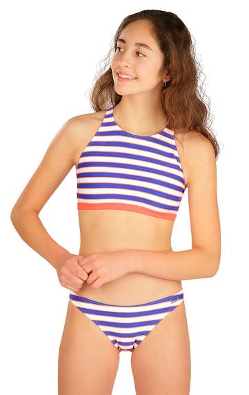 Dívčí plavky > Dívčí plavky kalhotky bokové. 6B465