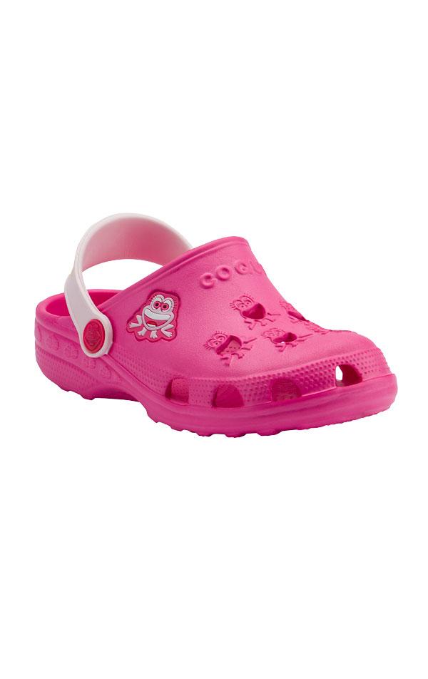 Dětské sandály COQUI LITTLE FROG. 6B600   Plážová obuv LITEX