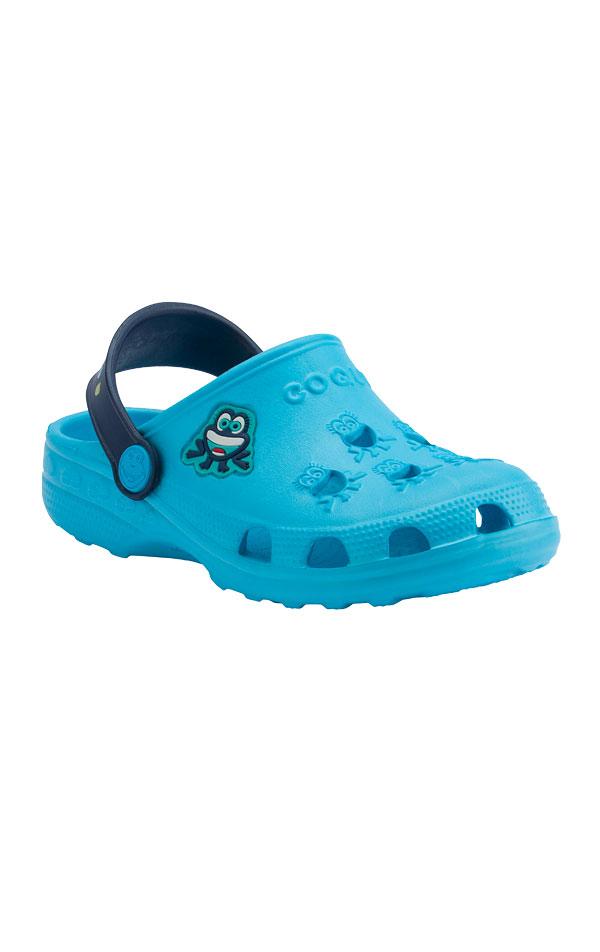 Dětské sandály COQUI LITTLE FROG. 6B601   Plážová obuv LITEX