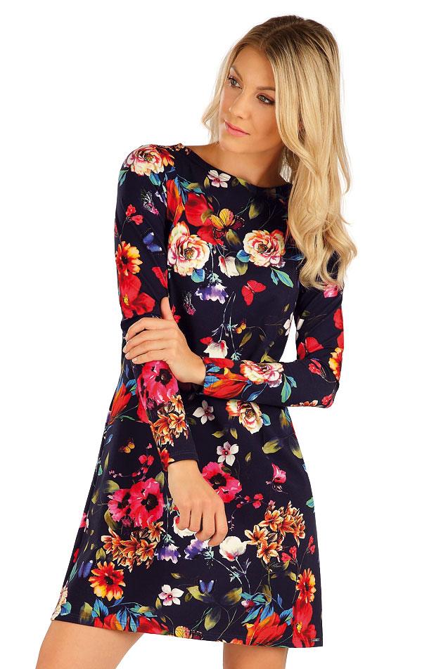 Šaty dámské s dlouhým rukávem. 7A007 | Šaty, sukně, tuniky LITEX