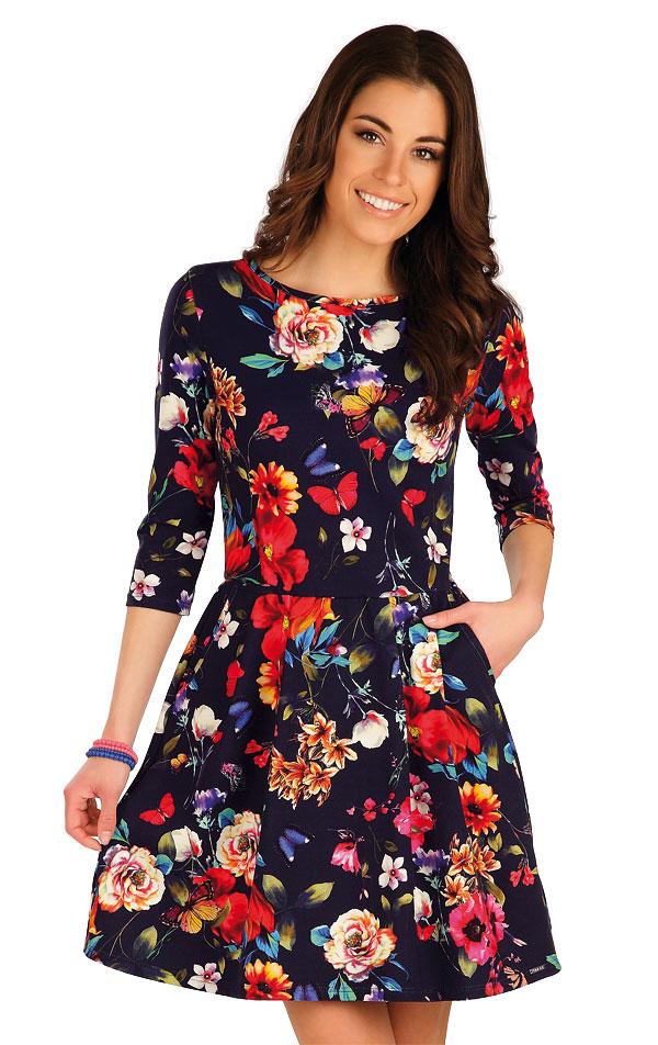 Šaty dámské s 3/4 rukávem. 7A008 | Šaty, sukně, tuniky LITEX