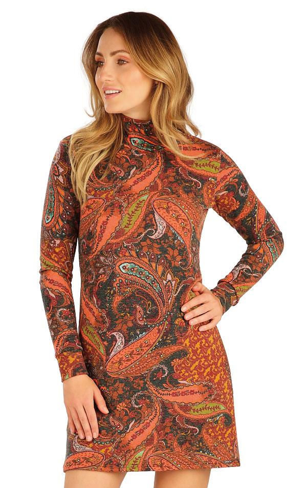 Šaty dámské s dlouhým rukávem. 7A013 | Šaty, sukně, tuniky LITEX