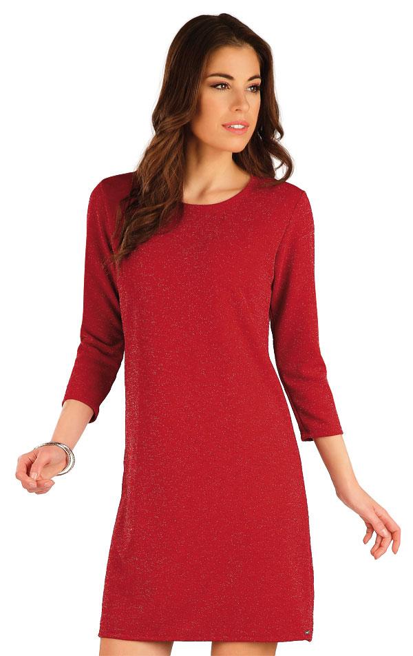 Šaty dámské s 3/4 rukávem. 7A017 | Šaty, sukně, tuniky LITEX