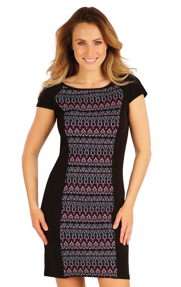 Šaty dámské s krátkým rukávem. 7A041 | Šaty, sukně, tuniky LITEX