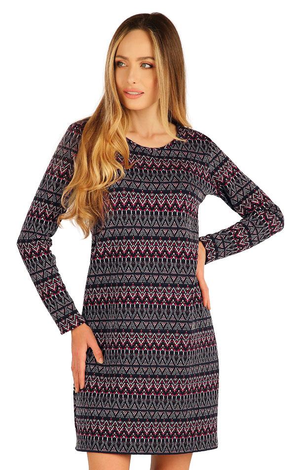 Šaty dámské s dlouhým rukávem. 7A042 | Šaty, sukně, tuniky LITEX