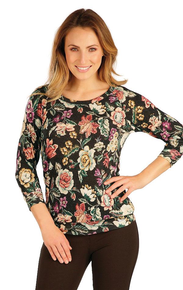 Tričko dámské s 3/4 rukávem. 7A050 | Tílka, trička, halenky LITEX