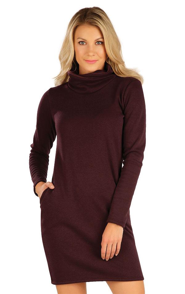 Mikinové šaty s dlouhým rukávem. 7A065 | Šaty, sukně, tuniky LITEX