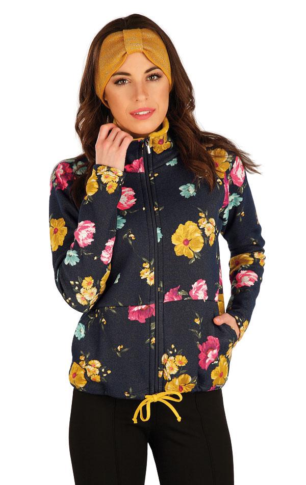 Mikina dámská na zip. 7A073 | Bundy, vesty, kabátky LITEX