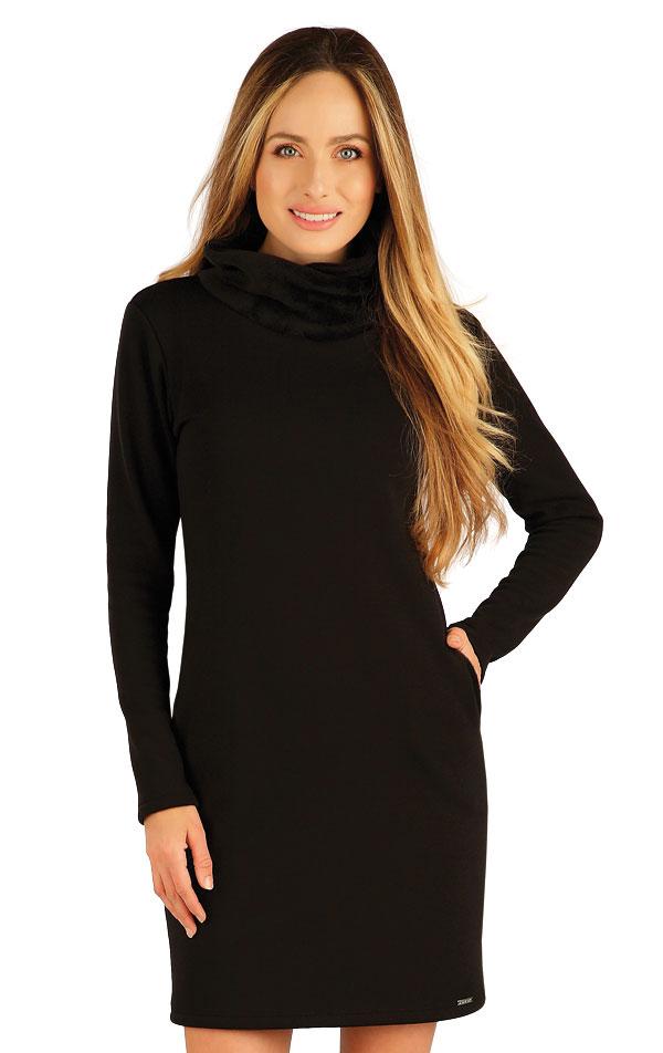 Mikinové šaty s dlouhým rukávem. 7A090 | Mikiny a roláky LITEX