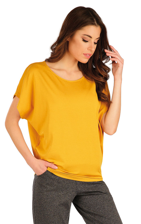 Tričko dámské s krátkým rukávem. 7A147   Tílka, trička, halenky LITEX