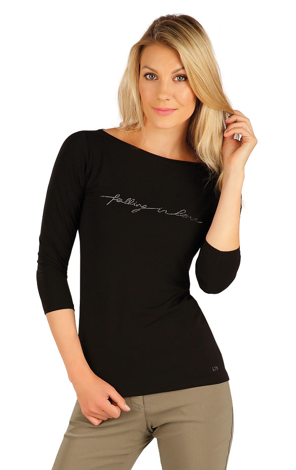 Tričko dámské s 3/4 rukávem. 7A152 | Tílka, trička, halenky LITEX