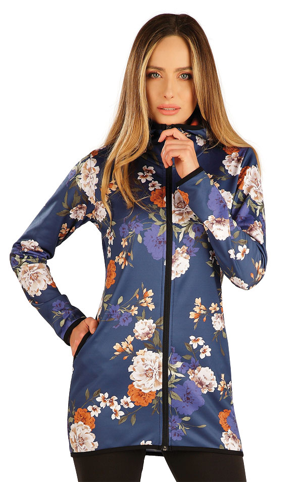 Mikina dámská s kapucí. 7A169 | Vesty a bundy LITEX