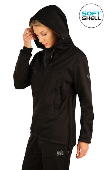 Vesty a bundy > Bunda dámská softshellová s kapucí. 7A208