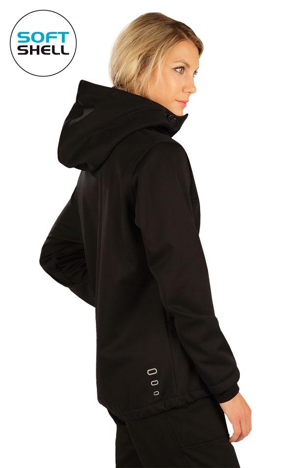 Bunda dámská softshellová s kapucí. 7A208   Bundy, vesty LITEX