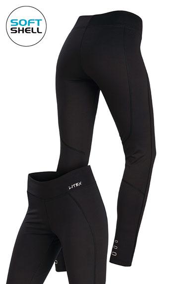 Kalhoty zateplené, softshell > Legíny dámské dlouhé softshellové. 7A211