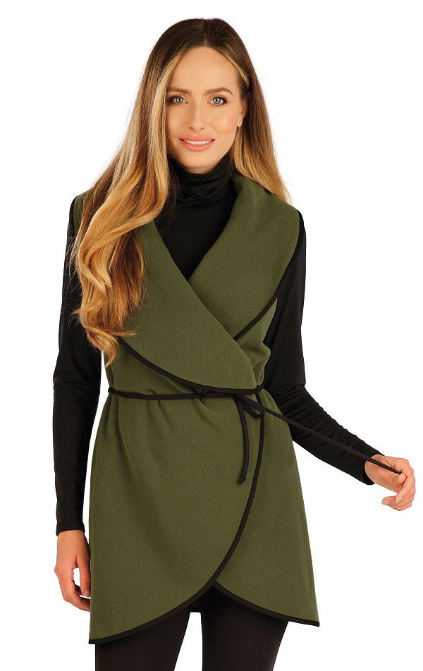 Fleecová vesta dámská dlouhá. 7A275   Bundy, vesty, kabátky LITEX